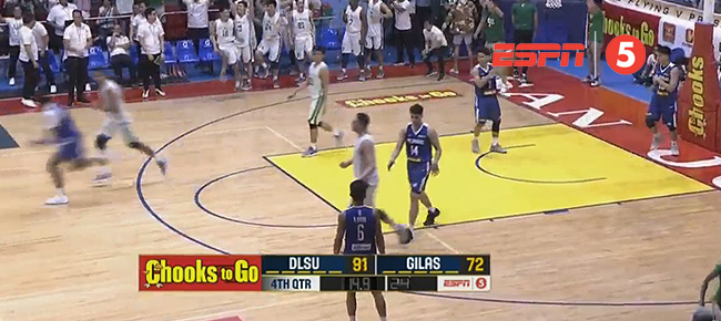 La Salle def. Gilas Pilipinas Cadets, 91-72 (REPLAY VIDEO) 2018 FilOil Flying V Preseason Cup | April 27