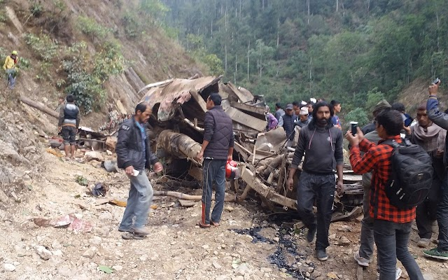 At least 24 dead in Nepal bus crash