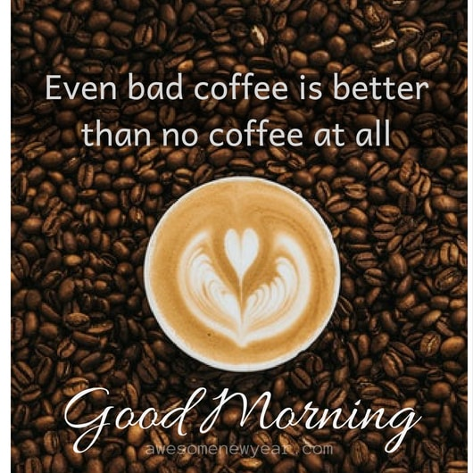Good morning Coffee Quotes With Images
