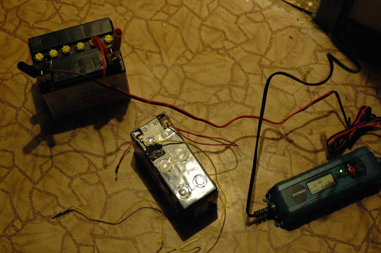 Зарядка акб малым током