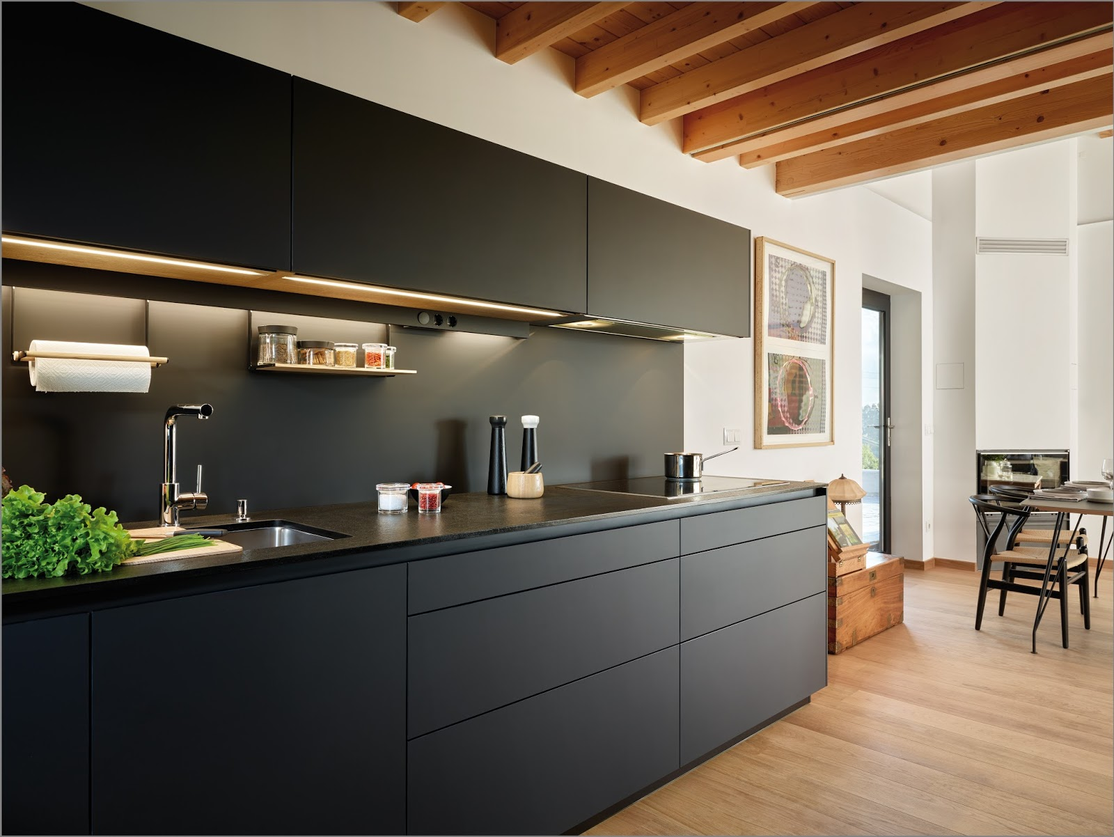 Más cocina en menos espacio - Cocinas Santos - Tecno Haus