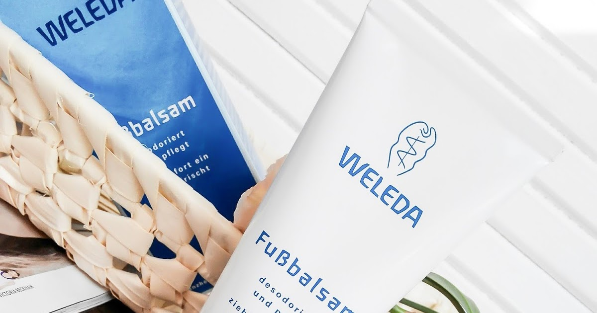 Бальзам для ног Fussbalsam Weleda - Mosaic trends