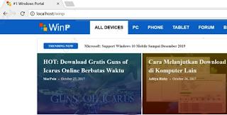 Cara Membuat Web Werver Menggunakan XAMPP