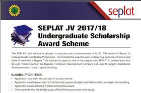 NPDC/SEPLAT scholarship Scheme