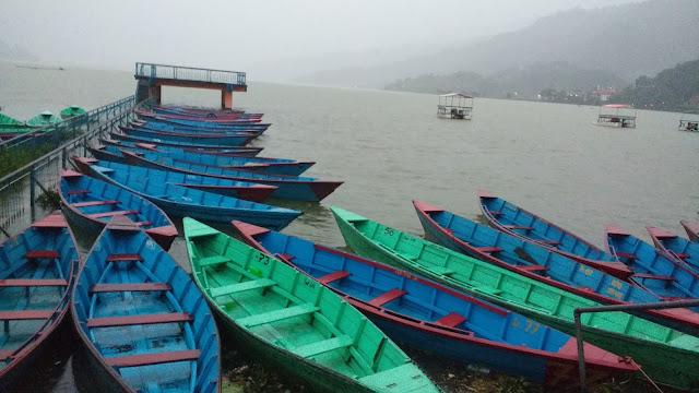 Phewa Lake Pokhara, Nepal