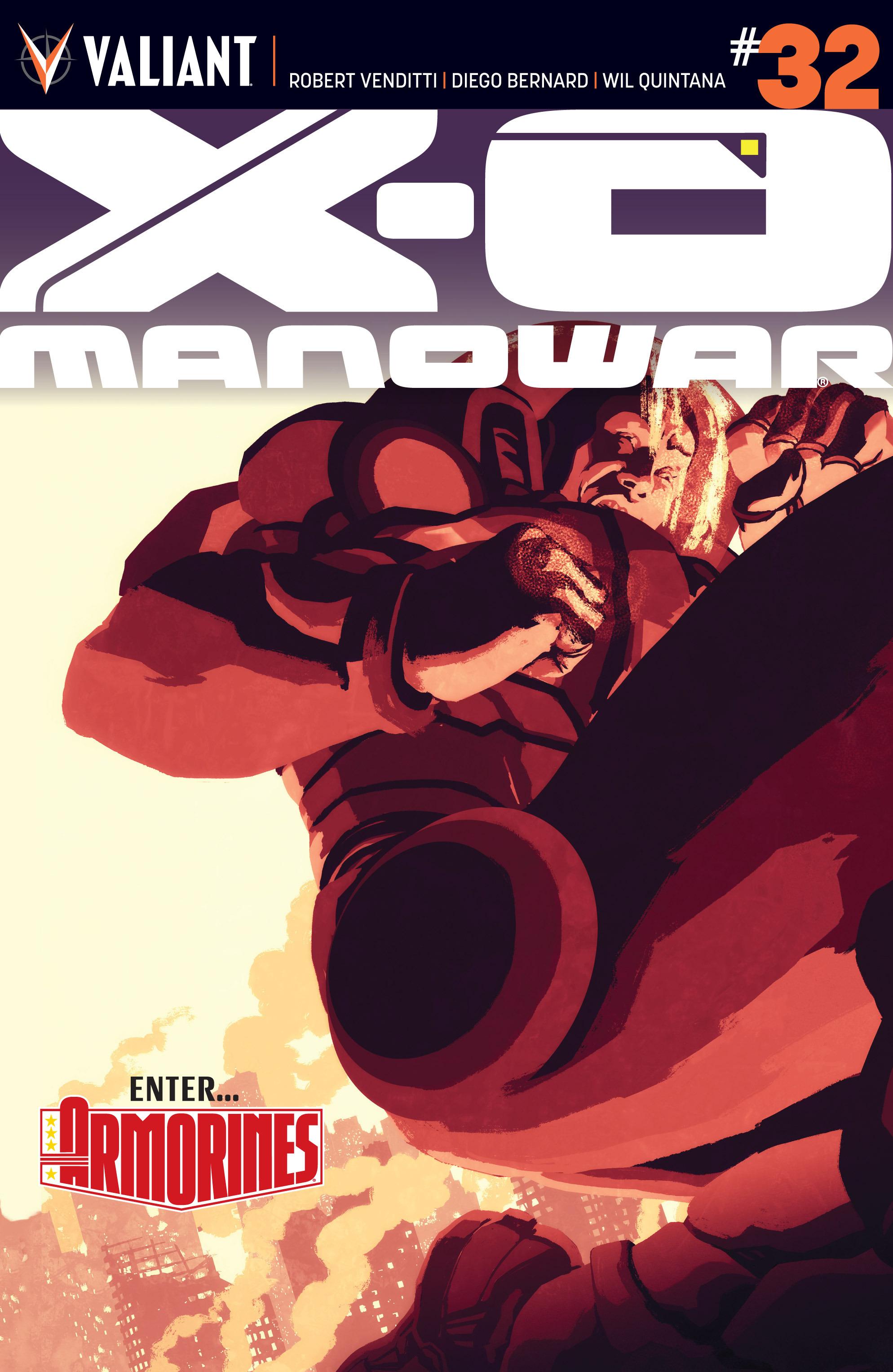 X-O Manowar (2012) 32 Page 1