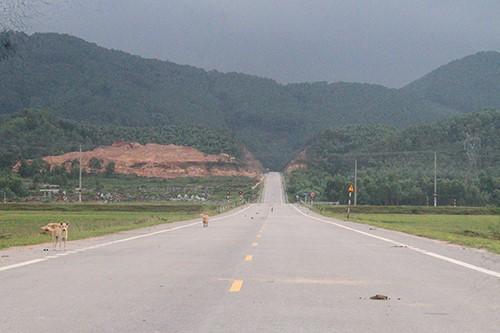2,3 km đường nhánh mở rộng tỉnh lộ 21 do huyện Thạch Hà