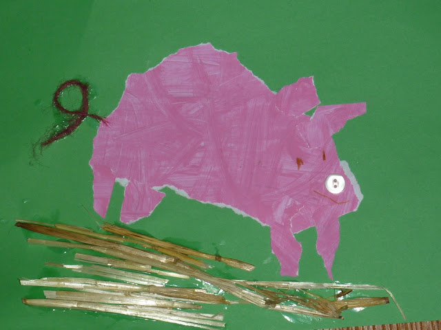 Schweine basteln