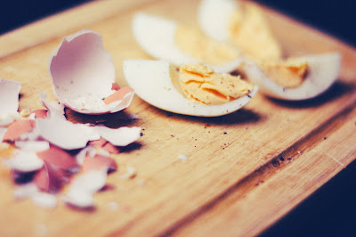Huevo sin cáscara