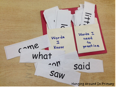 Pocket Partners is an effective way to practice sight words