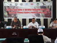 Harga Tandan Buah Segar (TBS) di Provinsi Sulawesi Barat Juli 2018 Kembali Mengalami Penurunan