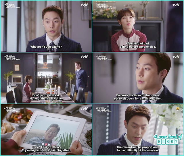 grand father first task to make Kang Cousins eat together - Cinderella and 4 Knights - Episode 3 Review