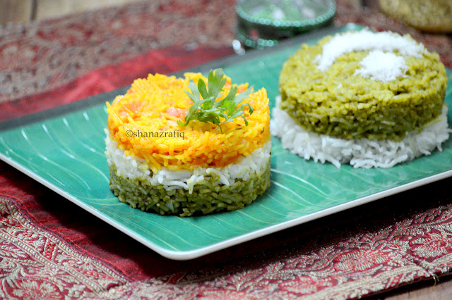 Flag Colored Rice