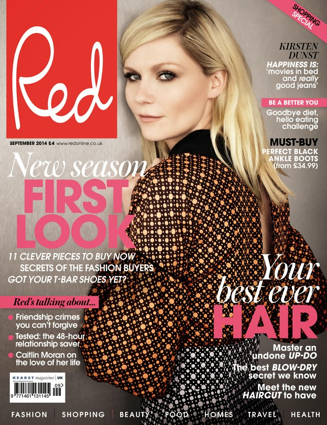 Kirsten Dunst Red Magazine cover