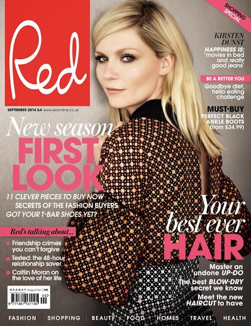 Kirsten Dunst Red Magazine cover