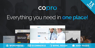 Free Downlaod CoPro Responsive Multipurpose WordPress Theme