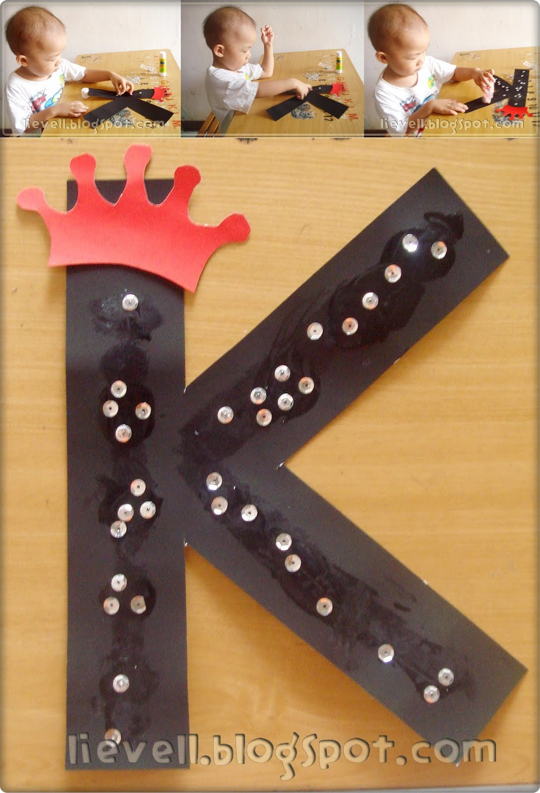 Pre Nursery Letter Week Craft K M