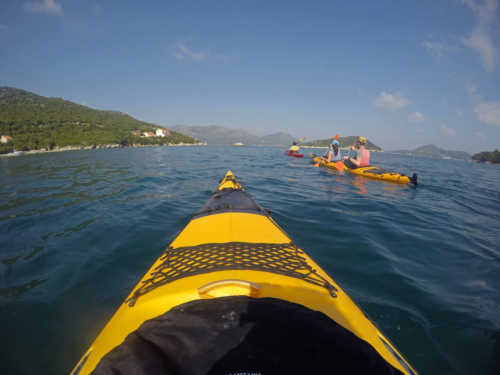 Kayaking Elafiti Islands with Adriatic Kayak Tours