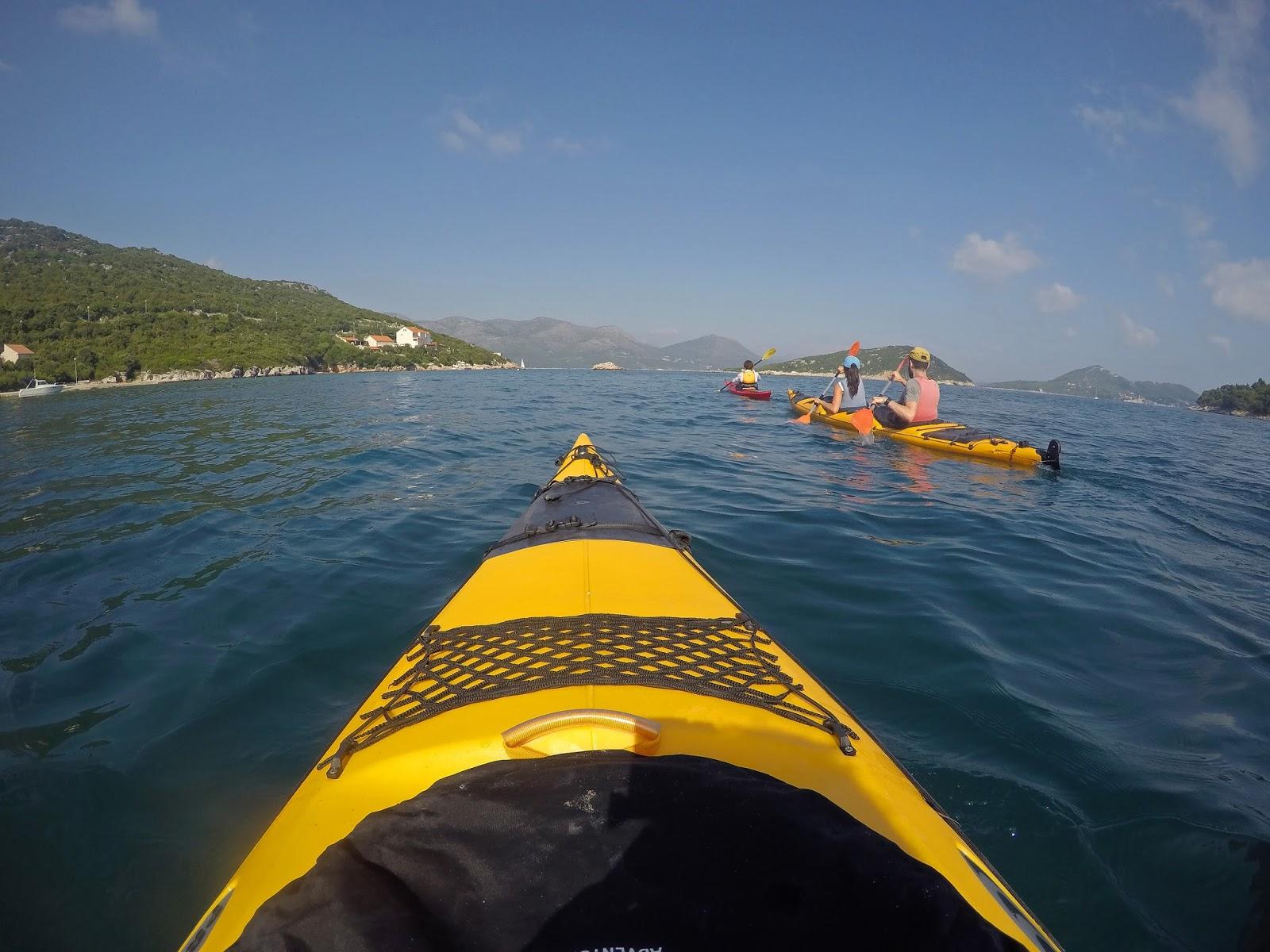 Kayaking Elafiti Islands with Adriatic Kayak Tours