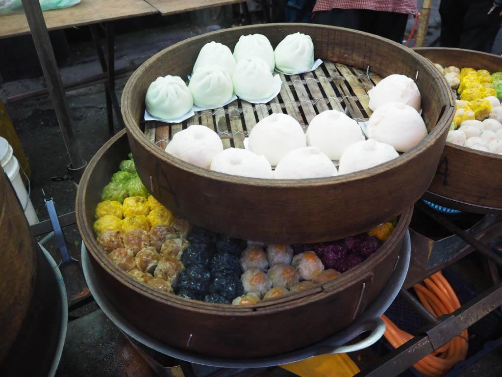 dim sum for sale jalan alor market kuala lumpur