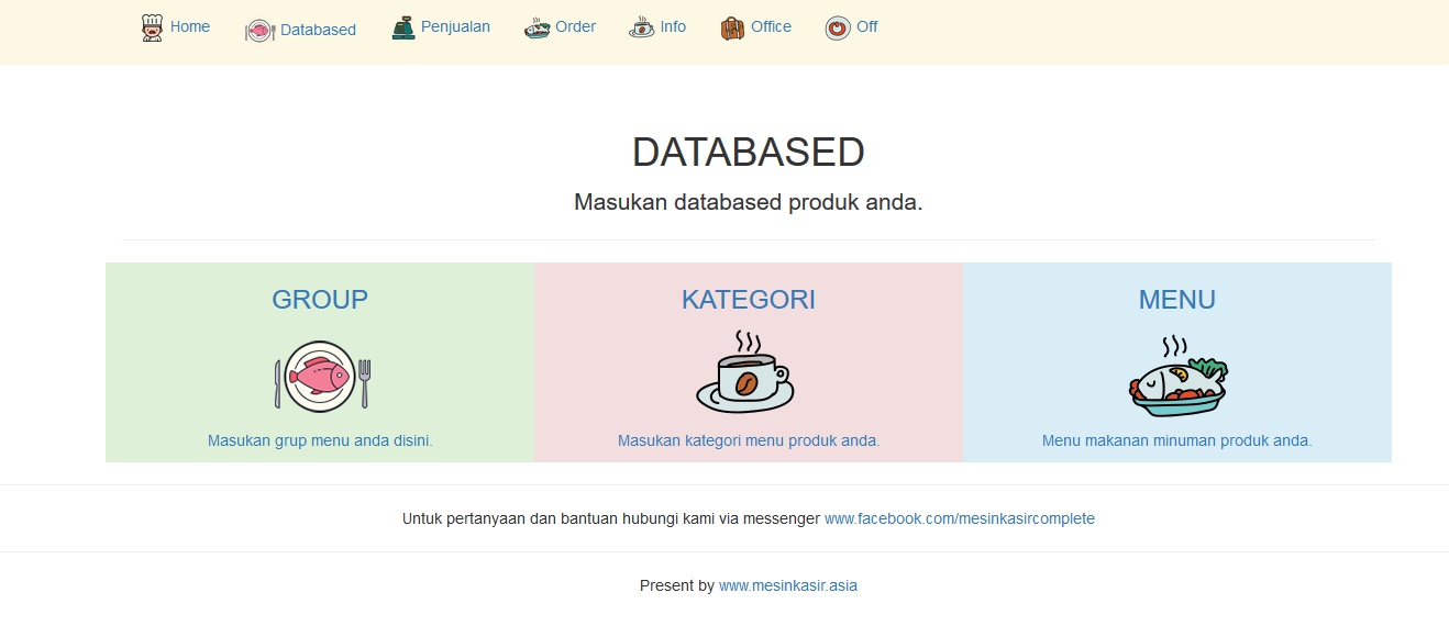 Software kasir online restoran cafe