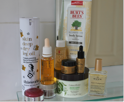 Latest Oil-Based Dry Skin Saviours