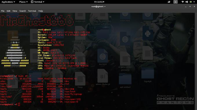 Cara Cek Kapasistas sisa Hardisk dan Ram di GNU/Linux