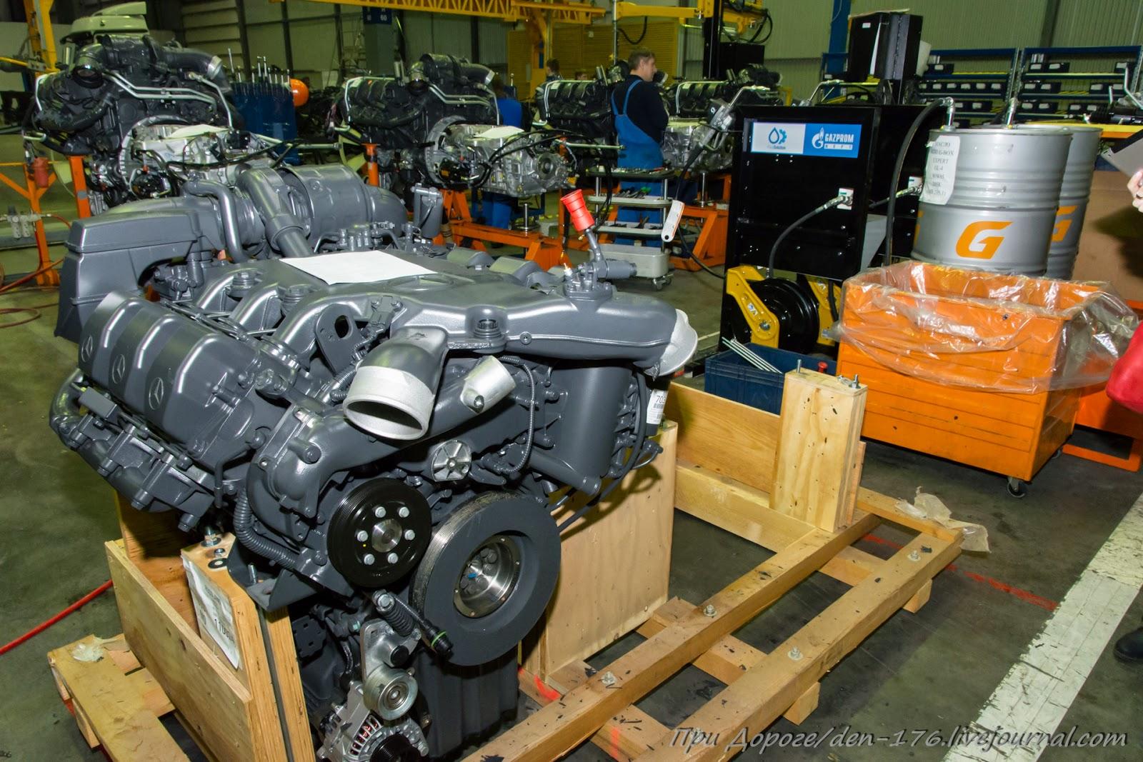 How to make MBTV 31 Mercedes Benz trucks in Naberezhnye Chelny