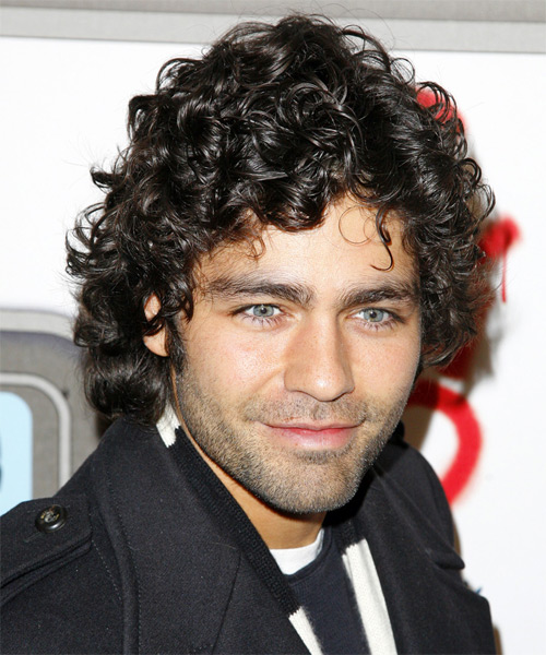 Mens Curly Hairstyles Long