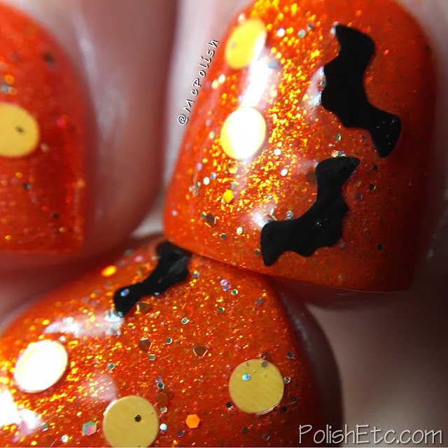 Whimsical Ideas by Pam - The Hallowhimsy Collection 2016 - McPolish - Bat-chelor in Paradise