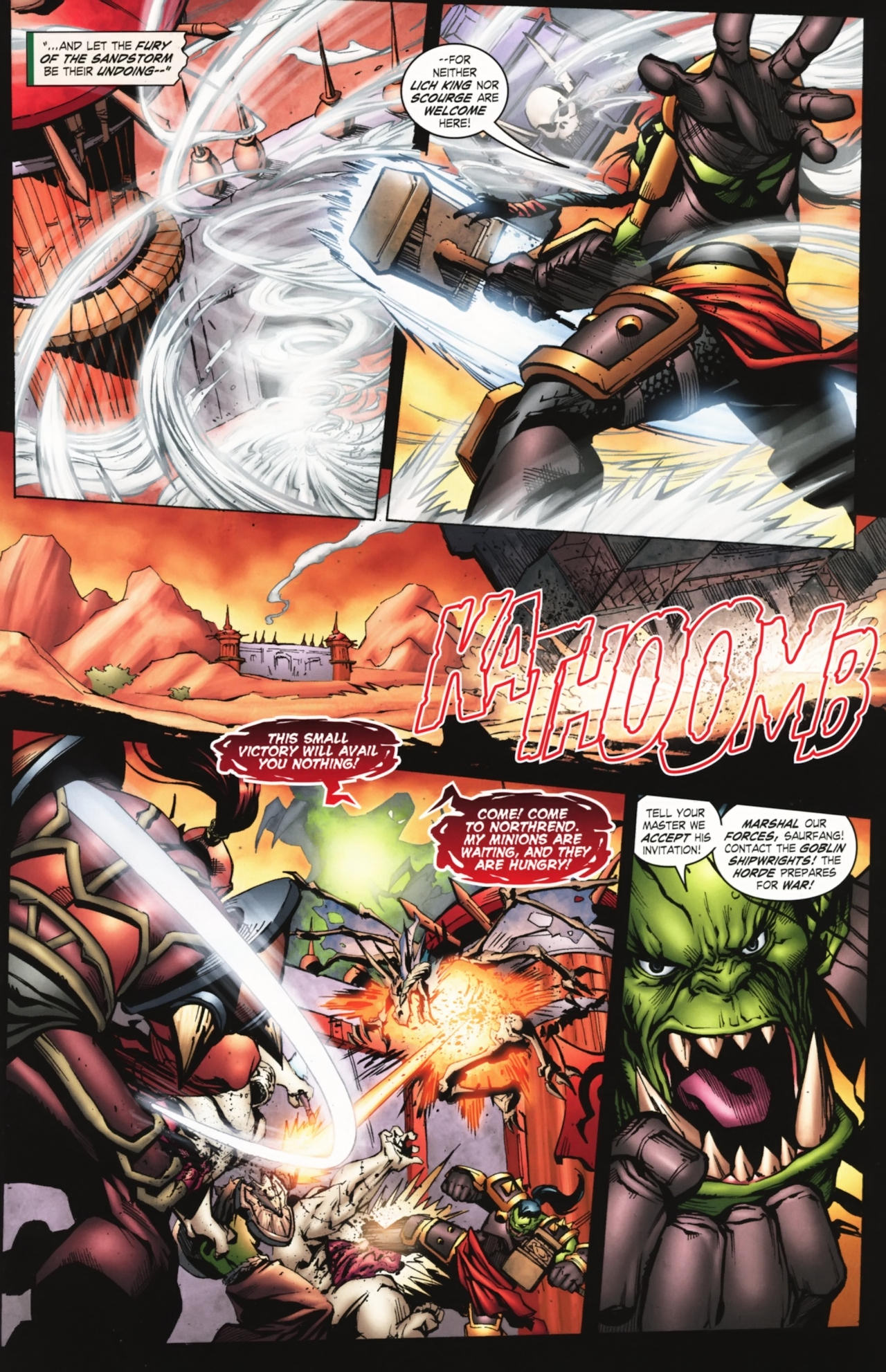 Read online World of Warcraft comic -  Issue #20 - 6