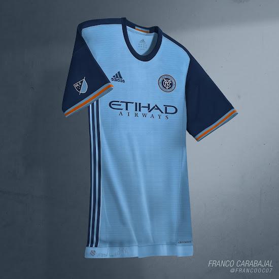 buy online 785ed 67e8c New York City FC 2016 Home Kit by Franco - Footy Headlines
