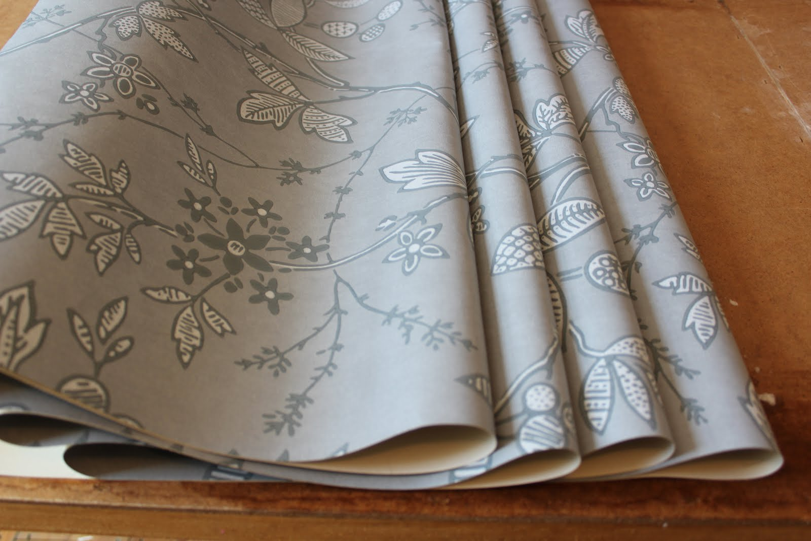 Wallpapering with Little Greene