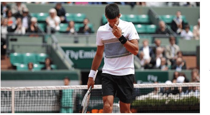 Heavy Rain Frustrates Novak Djokovic At Eastbourne
