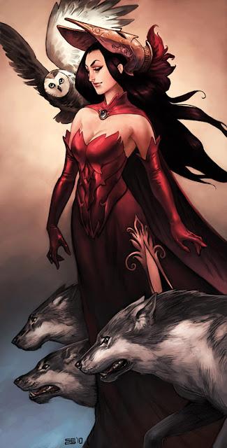 Resultado de imagem para Circe a deusa da noite