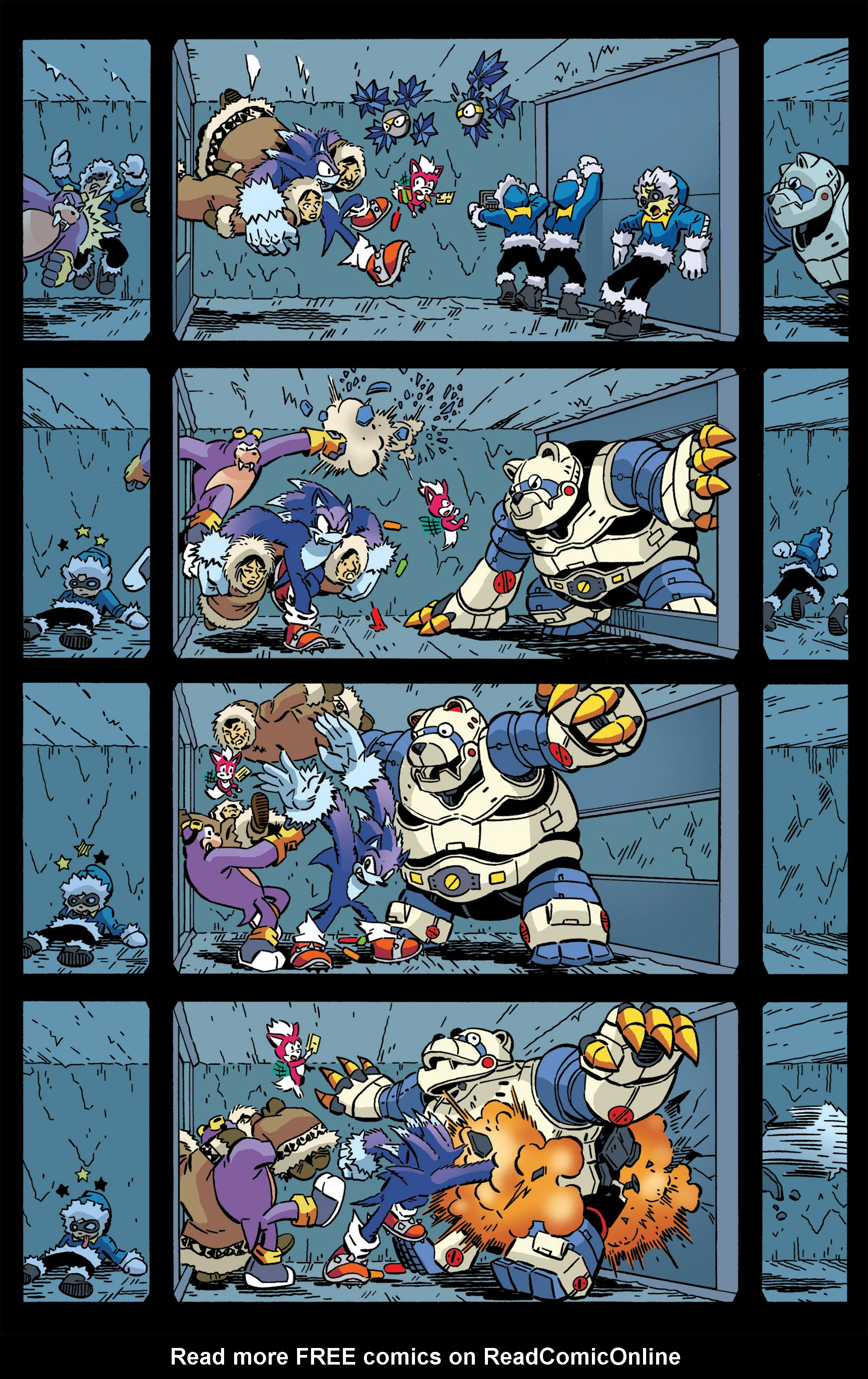 Read online Sonic The Hedgehog comic -  Issue #276 - 10