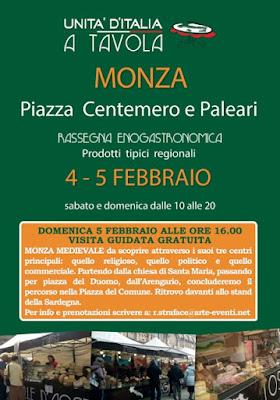 mercato prodotti tipici 4-5 febbraio Monza