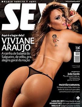 Download Revista Sexy Viviane Araujo Fevereiro 2012