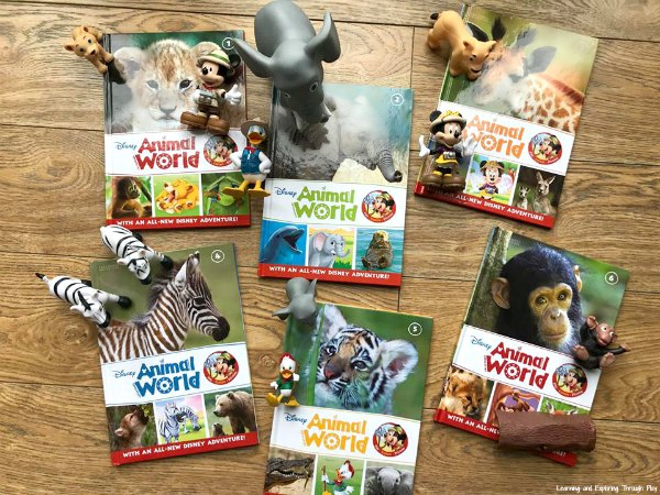 Disney Animal World Magazines