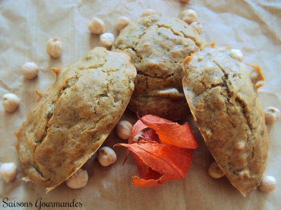 Madeleines salées sans gluten recette végétale sarrasin et pois chiche