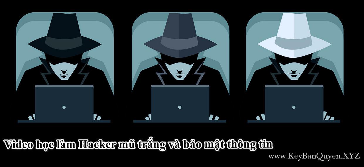 Video học làm Hacker mũ trắng và bảo mật thông tin