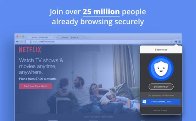 Betternet Unlimited Free VPN