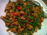 Resep Masakan Mudah Tumis Kacang Panjang Tempe