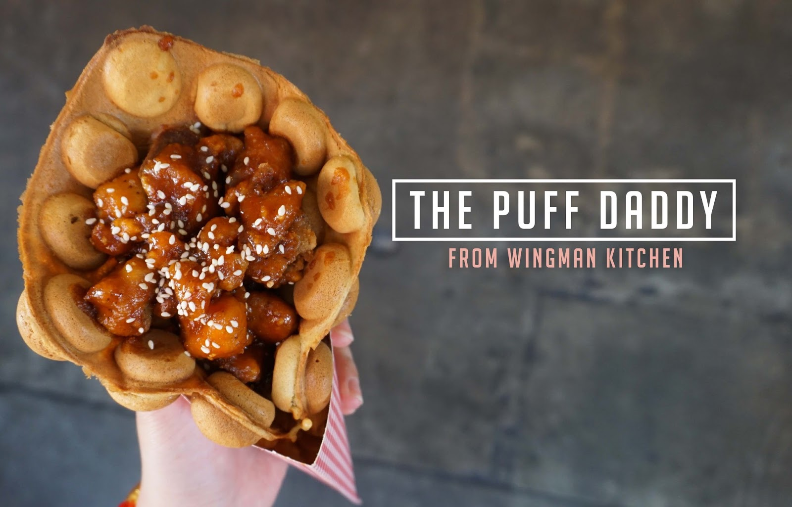 Need a Wingman? This Puff Daddy Will Do Just That @ Wingman Kitchen - Santa Ana
