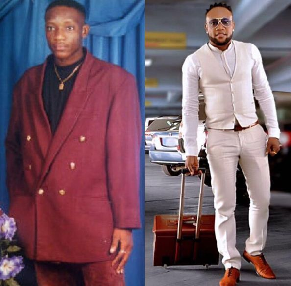 Kcee  Throwback Pictures