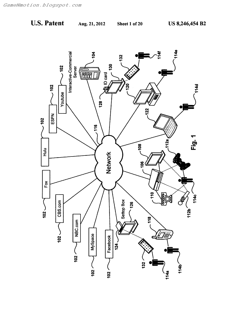 Sony Patent: convert TV commercials into interactive