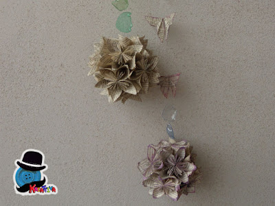 kusudama sfere decorative