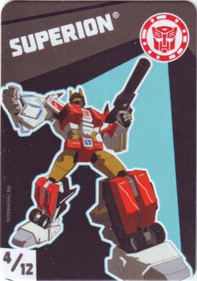 Cards Transformers Kill 4