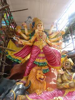 2017 Khairatabad Ganesh - Sri Chandi Kumara Anantha Maha Ganapathi