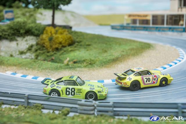 #68 Porsche 911 RSR Le Mans 1975 Slot Car Custom
